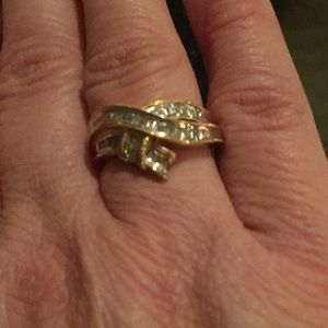 Jewelry - .33 Diamond 14k gold ring